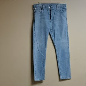 Levi's 512 Jeans light wash denim jeans Men 38x32